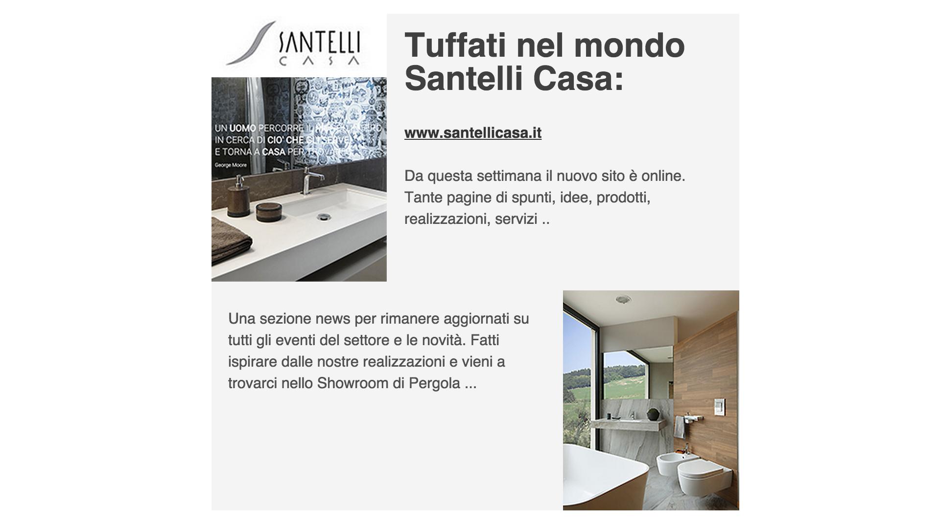 Santelli Casa News nuovo sito web