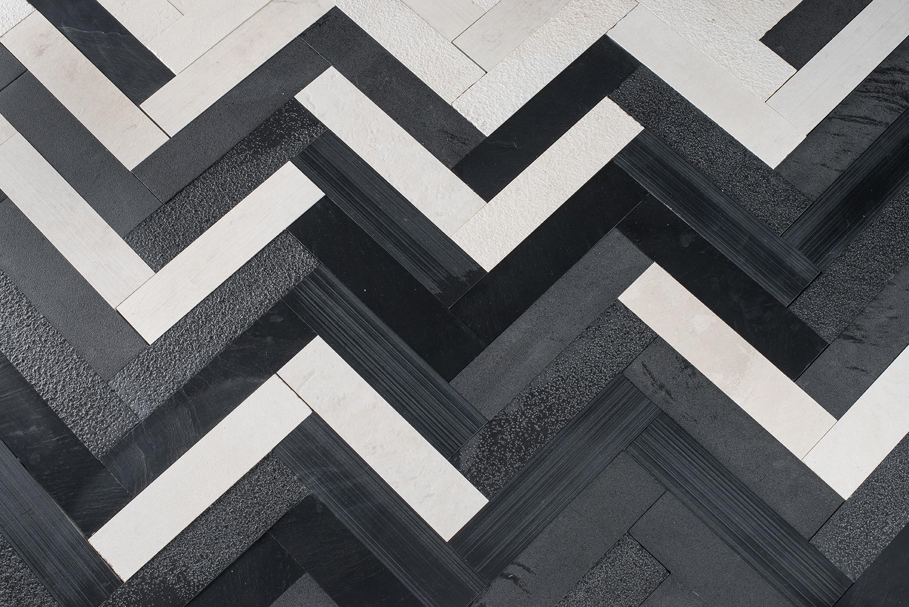 Briques zig zag dettaglio