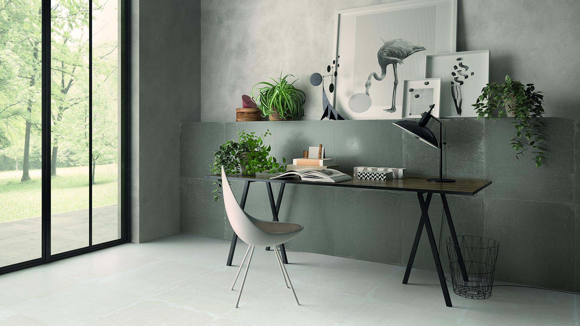 LH Bianco-Cenere Studio 60x60 Amb. Studio Orizz
